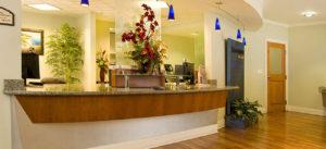 Lakeland Ob-Gyn Reception Area